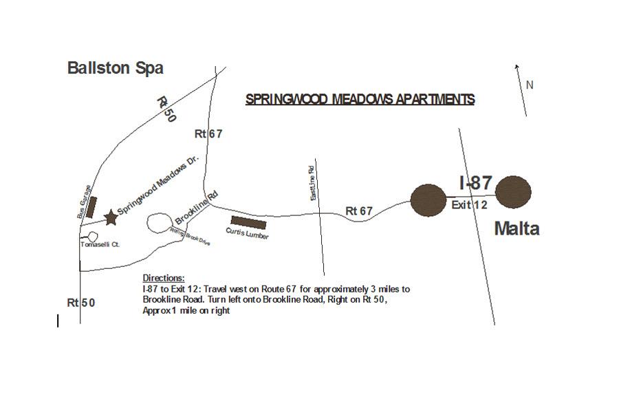 Springwood Meadows Map